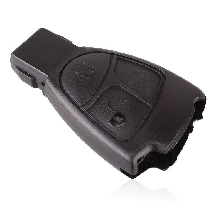 Haute qualité Rreplacements 3 boutons couverture à distance Case porte-clés pour Mercedes Benz 3B 3BT livraison gratuite