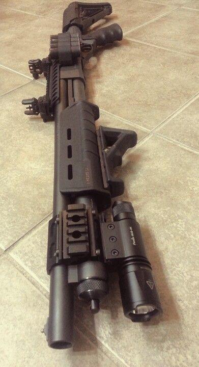 Custom build Remington 870:  I want to make mine look like this.