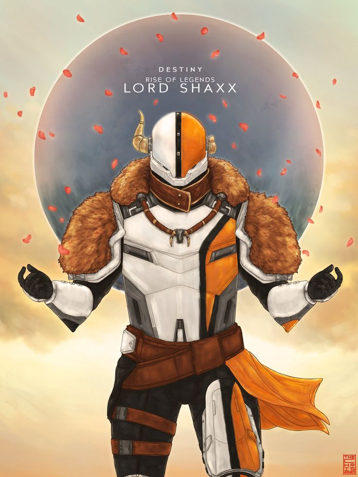 Destiny: Rise of Legends- Lord Shaxx by TheChrisPMan.deviantart.com on @DeviantArt