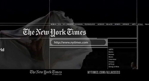 An 'Honest' Ad For The New York Times And Its Many UsesNew York Time
