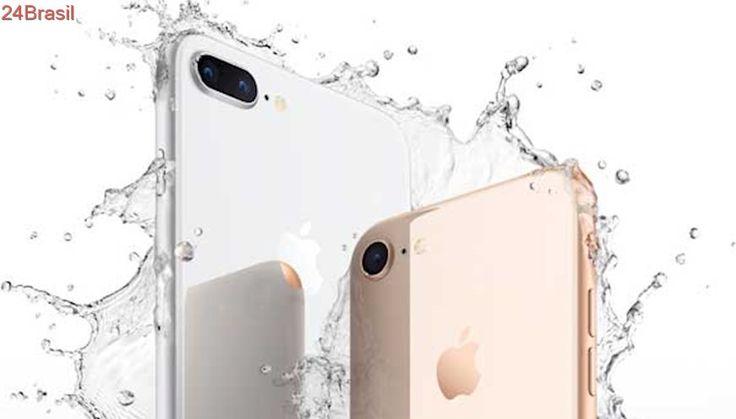 Começam as vendas do iPhone 8 no Brasil; preços iniciam em R$ 3.999