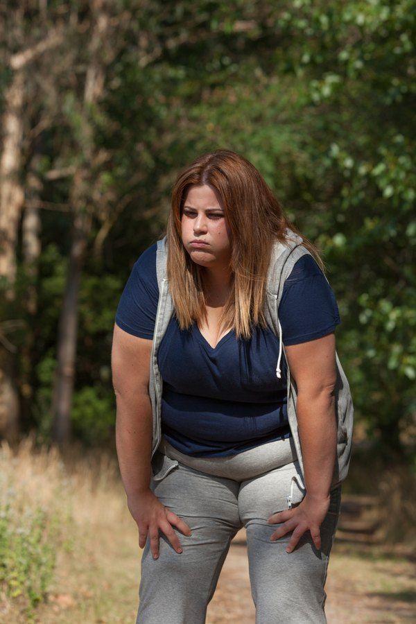 Fettleibige Frauen