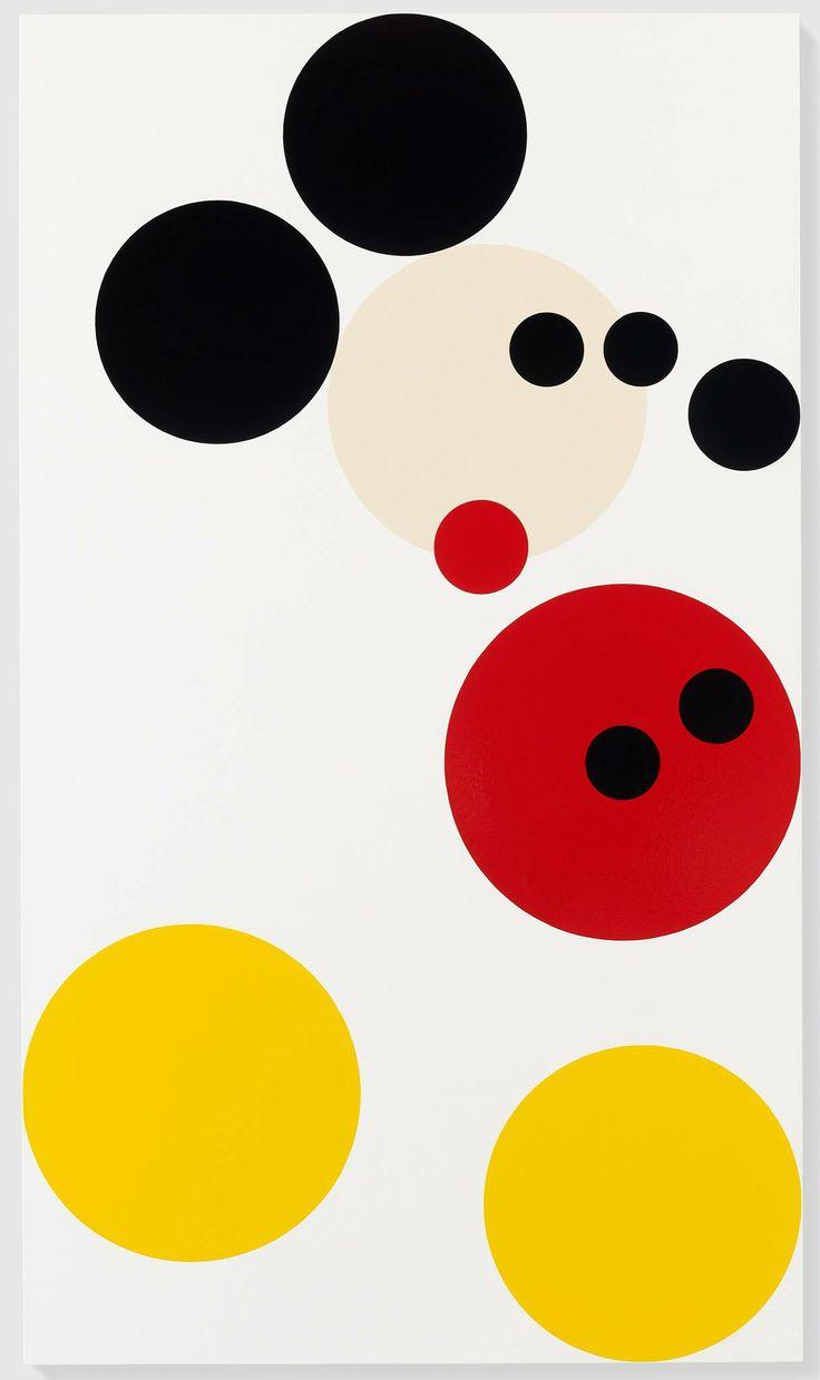 "Damien Hirst ""Mickey"" 2014"