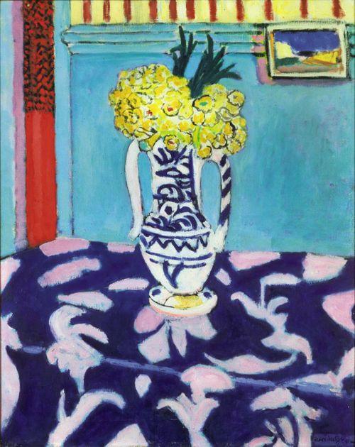 Henri Matisse, Les Coucous, Tapis Bleu et Rose