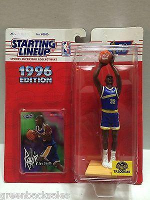 (TAS008349) - 1996 Edition Starting Lineup - NBA - Joe Smith #32 Warriors