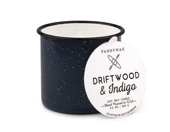 Driftwood and Indigo 9 oz. Alpine Candle