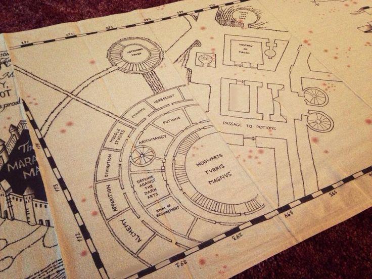 Marauders map detail