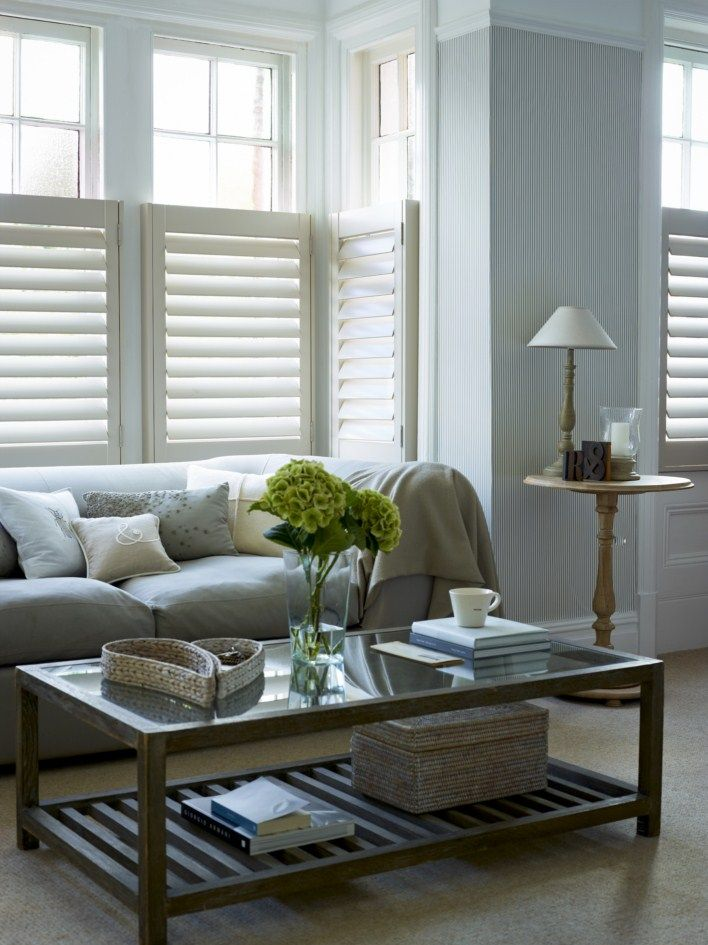 Got a box bay? Cafe style shutters are perfect for creating a streamlined…