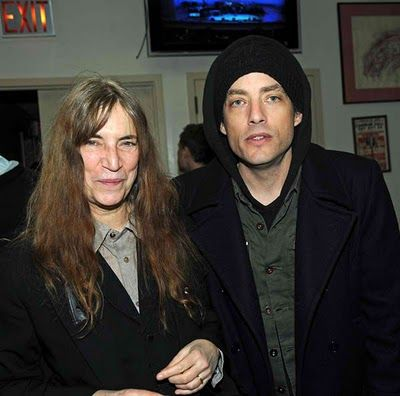Patti Smith and Jacob Dylan.