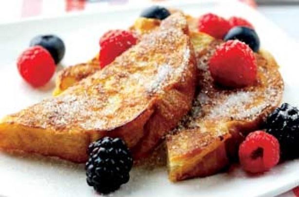 Paul Merrett's French toast recipe