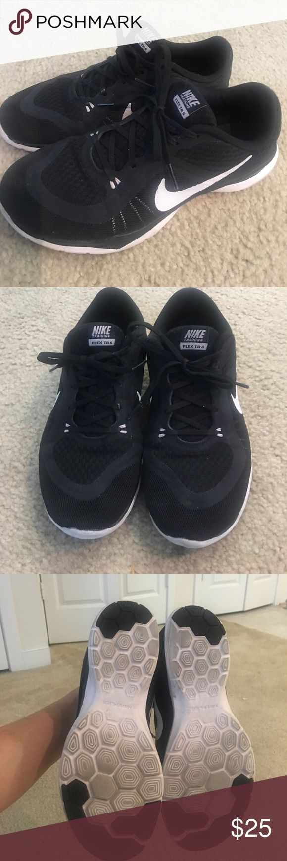 Nike Training Flex TR6 Sneakers Preloved but in excellent condition! Used mostly for cross training indoor workouts. Open to reasonable offers! Nike Shoes Sneakers