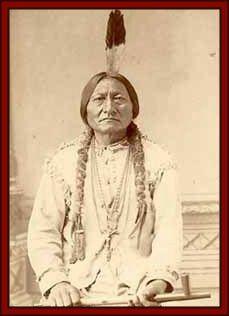 Medicine man, Sitting Bull. Tatanka lyotake.  Hunkpapa