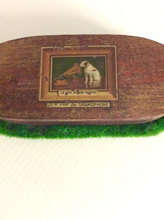 1920's Rare French His Master Voice Antique by SouthofFranceFinds