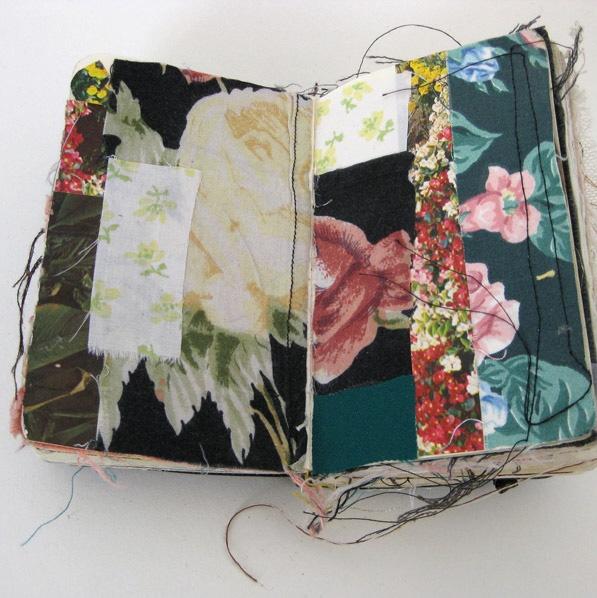 Fabric sketchbook
