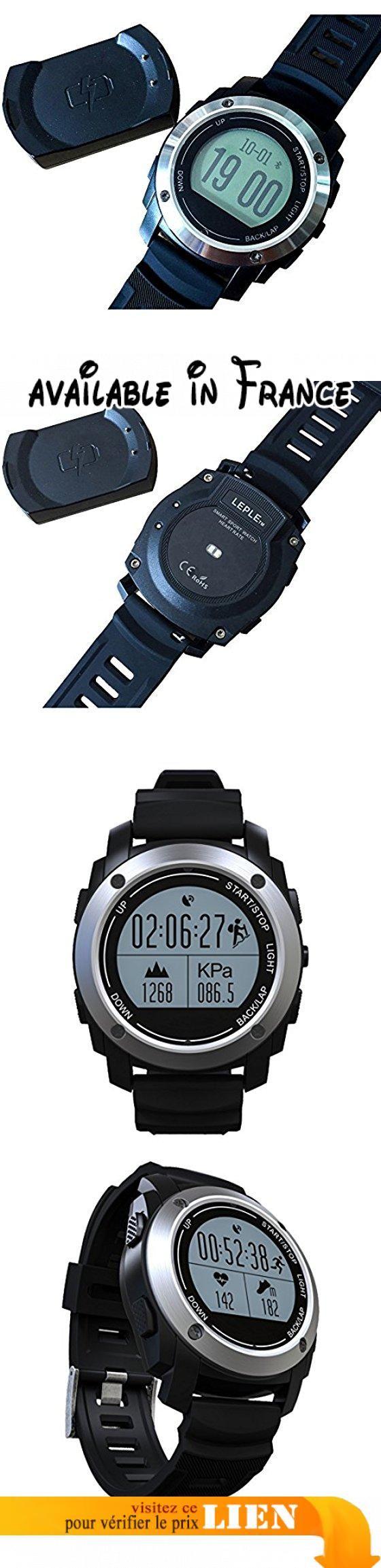 Montre Intelligent TéléPhone l'Ecran de 1.3 Pouces Bluetooth 4.0 Smartwatch Moniteur de Fréquence Cardiaque, FREEDLY28 Compatible avec iOS et Android (Noir). ● Conception Bluetooth pour avis à distance, prise de photo à distance et lecteur vidéo, enregistrement sonore.. ● Équipé du GPS, de la jauge de pression, de la température de l'environnement, de l'altimètre, du réveil, du calendrier.. ● Facile à monter, à rouler, à courir et à marcher avec un record