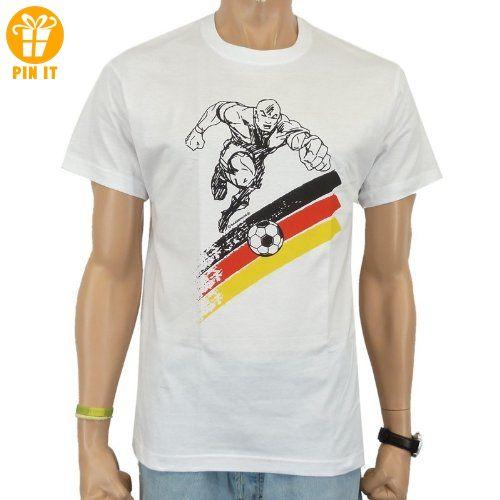 Rahmenlos® Fussball Sturm Fun T-Shirt, weiss - AUSVERKAUF, Größe:XXL - T-Shirts mit Spruch   Lustige und coole T-Shirts   Funny T-Shirts (*Partner-Link)