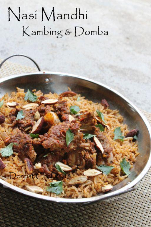 resep nasi kebuli kambing arab daging domba nasi basmati
