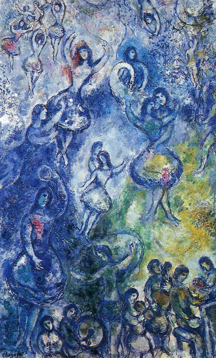 marc chagall paintings | Dance - Marc Chagall - WikiPaintings.org