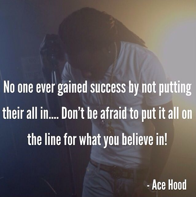 Life In The Hood Quotes Images: Ace Hood Quotes. QuotesGram