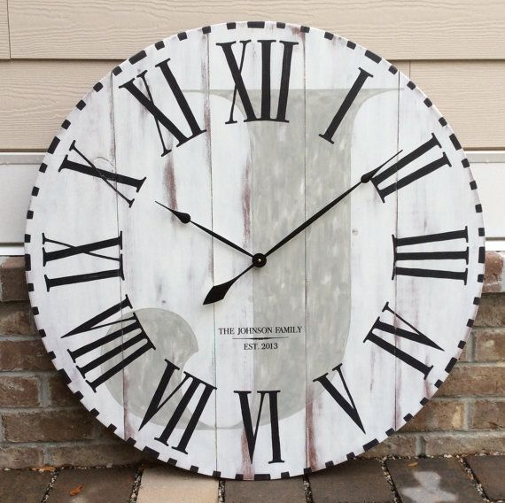 large wall clock oversized wall clock wall by