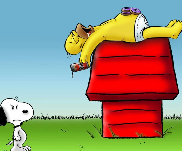 Homer And Snoopy. The SimpsonsStonerSnoopyFunny QuotesWallpaperGuyHousePeopleTrue  Stories