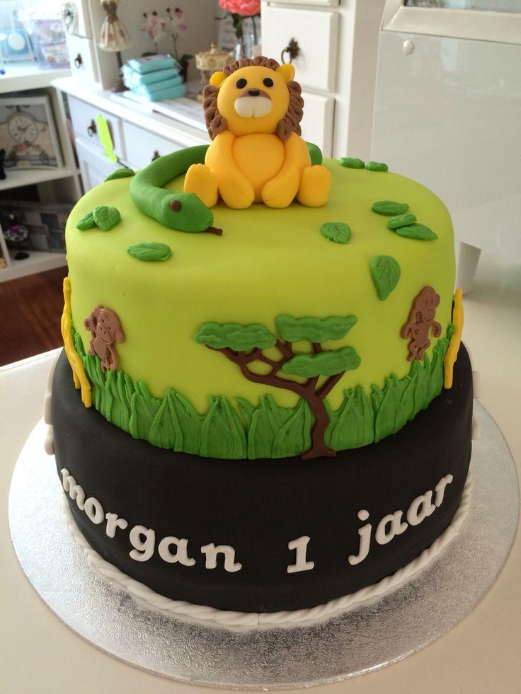 Skulls taart Jungle taart www.twinkelotje.nl