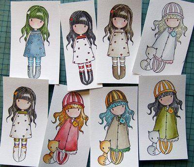 (born under a) paper moon: Some more Gorjuss Girls...