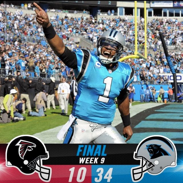 Today's game winning score~ Way to go Panthers! Facebook.com