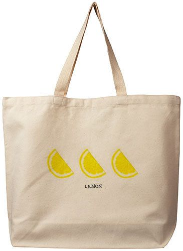 Hand Stamped Organic Cotton Canvas Tote Bag on Etsy, $15.00