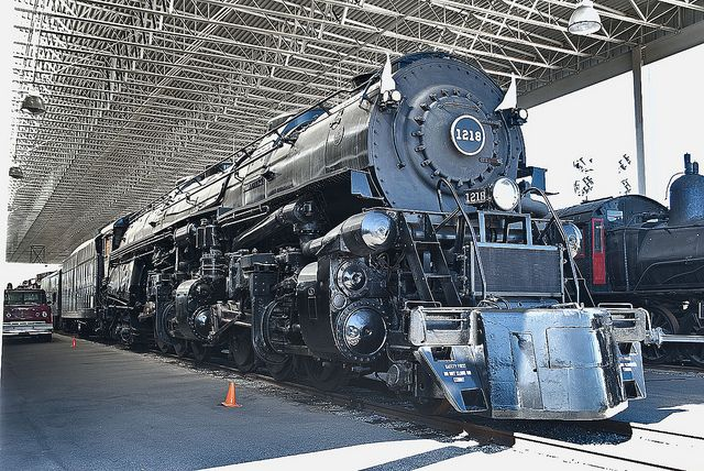 NORFOLK & WESTERN STEAM LOCOMOTIVE 1218, VIRGINIA MUSEUM OF TRANSPORTATION, ROANOKE, VIRGINIA | Flickr - Photo Sharing!