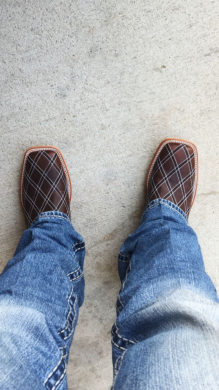 Horse Power Men's Distressed Brown with Moka Zigzag ...