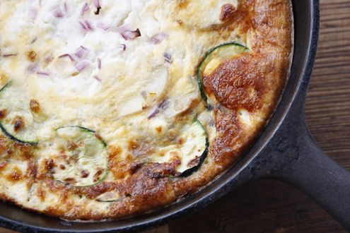 Frittata L.O.P.Z Leek, Onion, Potato and Zucchini Frittata is a dish that keeps on giving. Prepare a large one for breakfast and without trying you have lunch or a quick and easy dinner ready to go