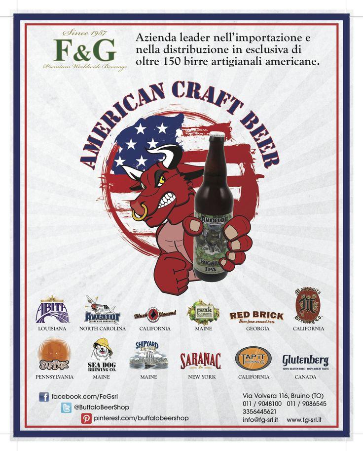 Pubblicità sul Il Mondo della Birra di Buffalo American Beer Shop e FG SRL Premium Worldwide Beverage  #birreamericane #ilmondodellabirra #aprileduemilaquattrordici #americancraftbeer #FGsrl #aviatorbeer #aviatorbrewing #aviator #aviatorcraftbeer