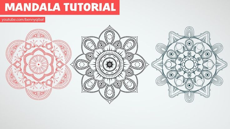 Illustrator Mandala Art Tutorial  Learn how to draw complex mandala in easy way using symbol in adobe illustrator. In this tutorial you will learn illustrator tools such as pen tool, symbol, transform, reflect and much more!! Support us by click on Like and Share Buttons, see you in the next tutorials!