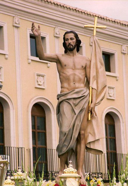 Jesús resucitado.