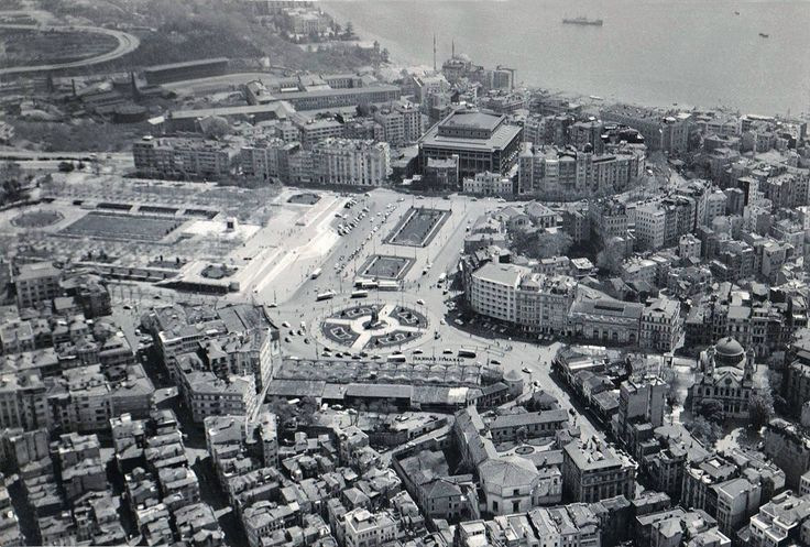 Taksim Hava Fotoğrafı / 1953 http://ift.tt/2kCBeWR