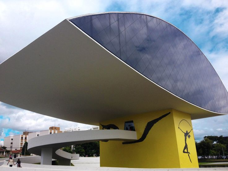 Museu do olho em Curitiba