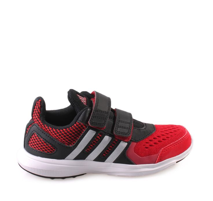 HYPERFAST ADIDAS Red Sneakers for Boys with Scratches. Παιδικά αγορίστικα κόκκινα αθλητικά παπούτσια για αγόρια.