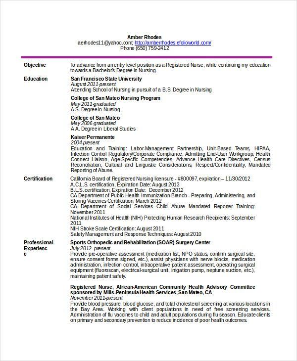 registered nurse job description for resume node494 cvresume