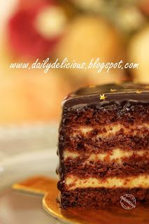 dailydelicious: Chicken farm bakers' project # 38 : Egg white free, gluten free and also non dairy dessert, Allergen free Boston cream cake