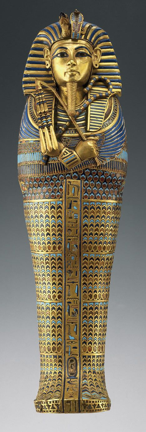 King Tut Sarcophagus | The smile that lasted 3,000 years - King Tuts mummy goes on display ...
