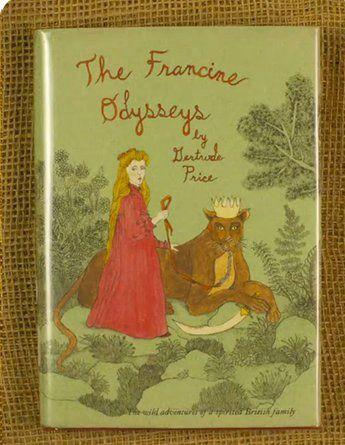 Moonrise Kingdom book cover The Francine Odysseys.
