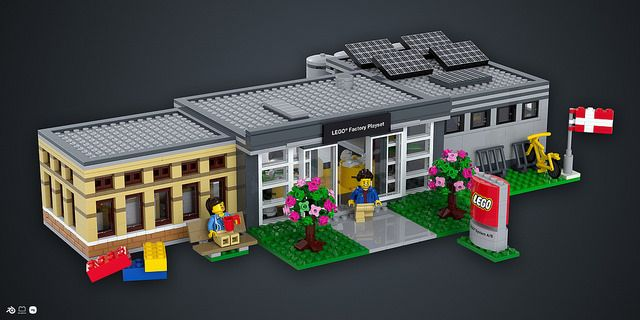 Check out the new, updated LEGO Factory Playset and the 360 degree render of it on LEGO Ideas! ;)