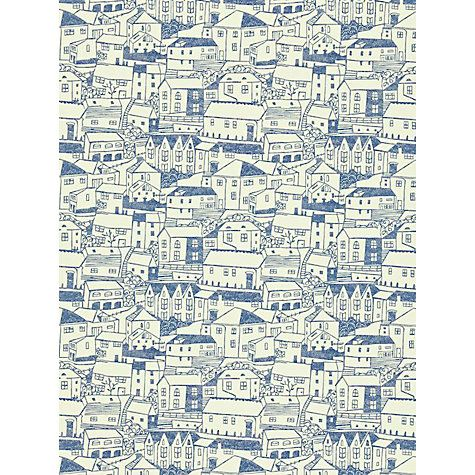 Buy Sanderson St Ives Wallpaper Online at johnlewis.com indigo ivory