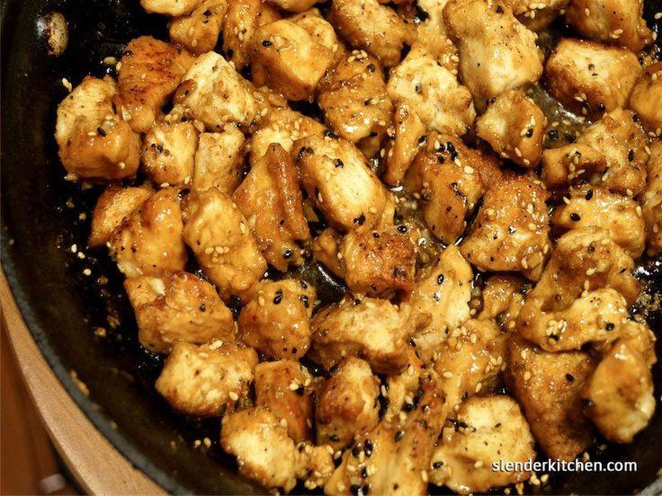 Sesame Chicken - Slender Kitchen