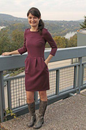 Robe Lora aux couleurs de l'automne