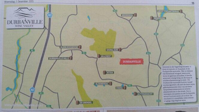 Durbanville Wine Route