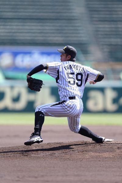 Akira Iwamoto / Hanshin Tigers / Pitcher