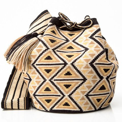 Authentic Handmade Wayuu Mochila Bags | Habit