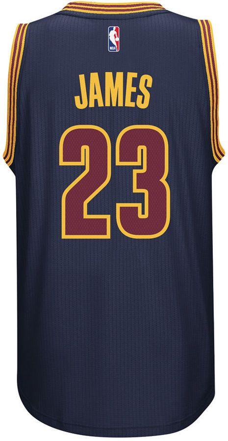 adidas Men's LeBron James Cleveland Cavaliers Swingman Jersey